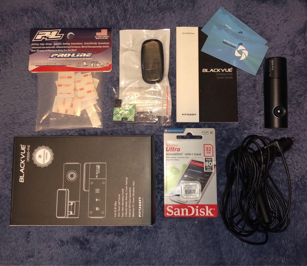 Blackvue dashcam set