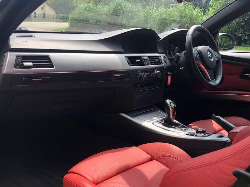 BMW 335i Cabriolet Manual