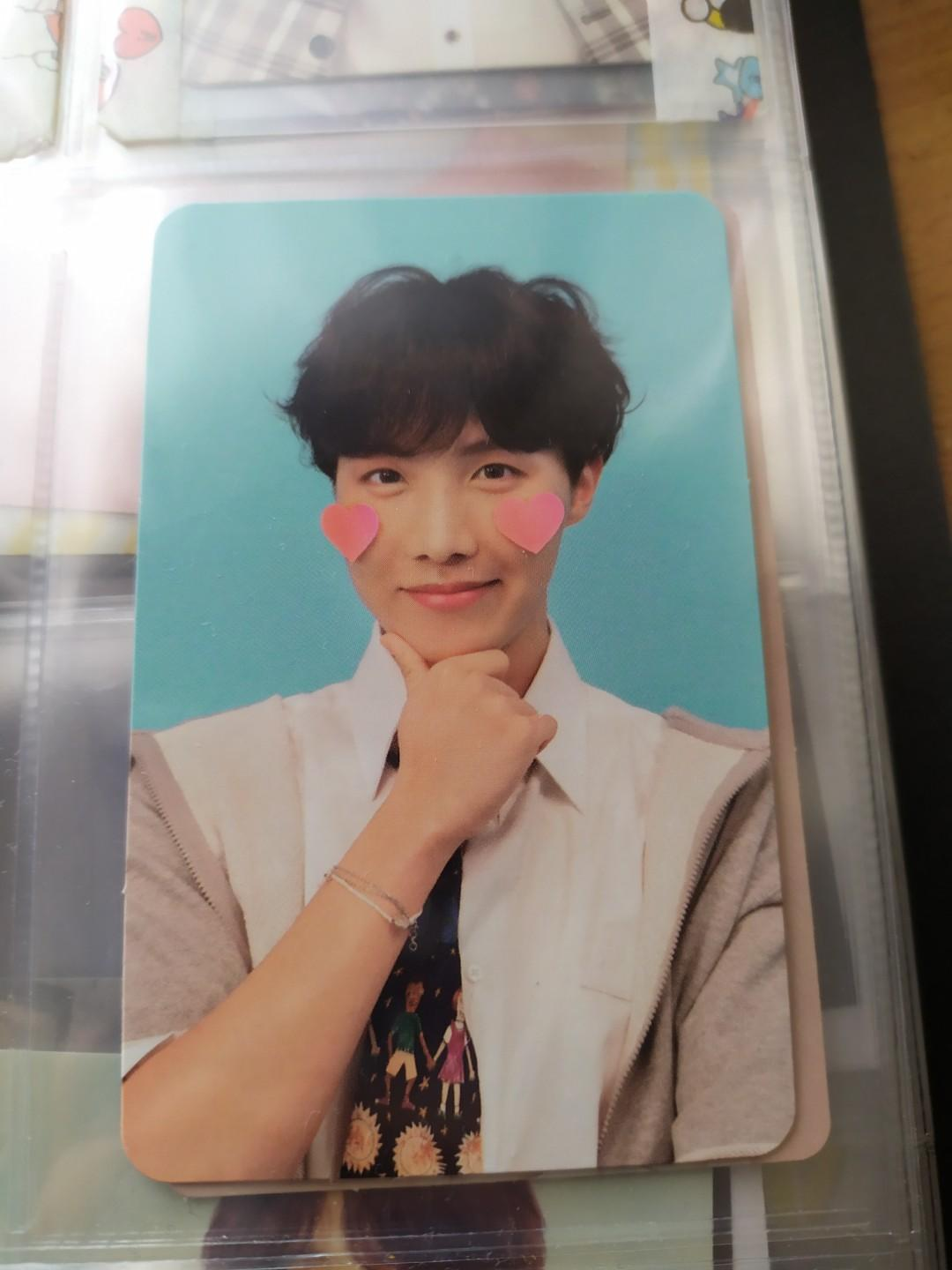 Bts love yourself answer F version with Jhope photocard.
