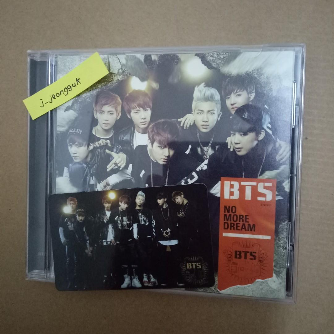 BTS - No More Dream (Japanese CD) + Group Photocard