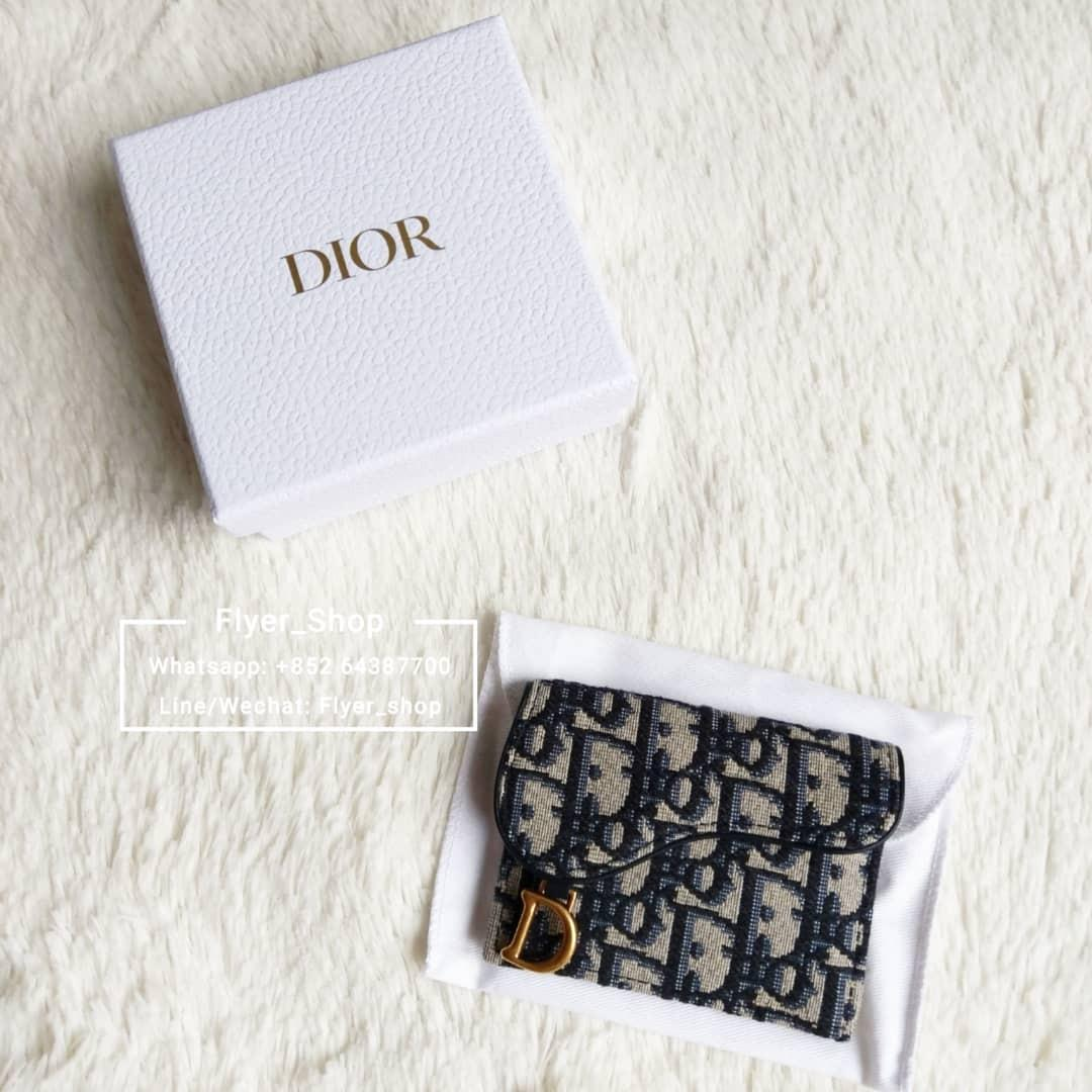Dior Saddle Oblique Card Holder