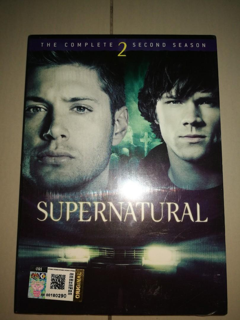 DVD SUPERNATURAL THE COMPLETE 2ND SEASON on Carousell