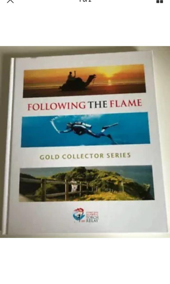 Following The Flame - Gold Collector Series - Sydney 2000 Olympic Torch Relay -
