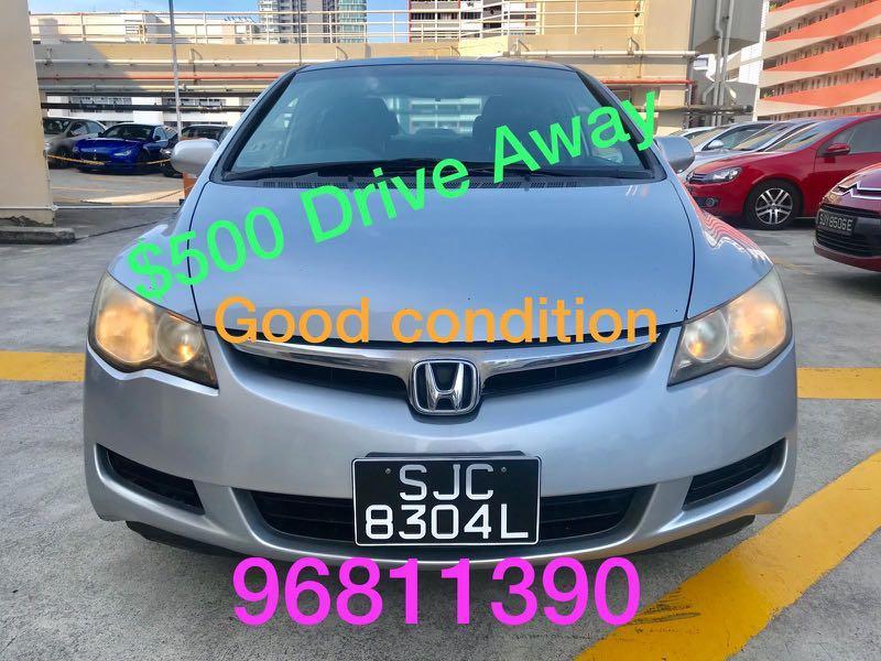 Honda Civic Auto 1.6 VTI