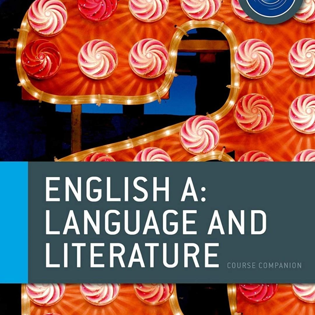 IBDP English A Language & Literature: Course Book: Oxford IB Diploma Program Course 2nd Edition by Rob Allison and Brian Chanen. P3200.