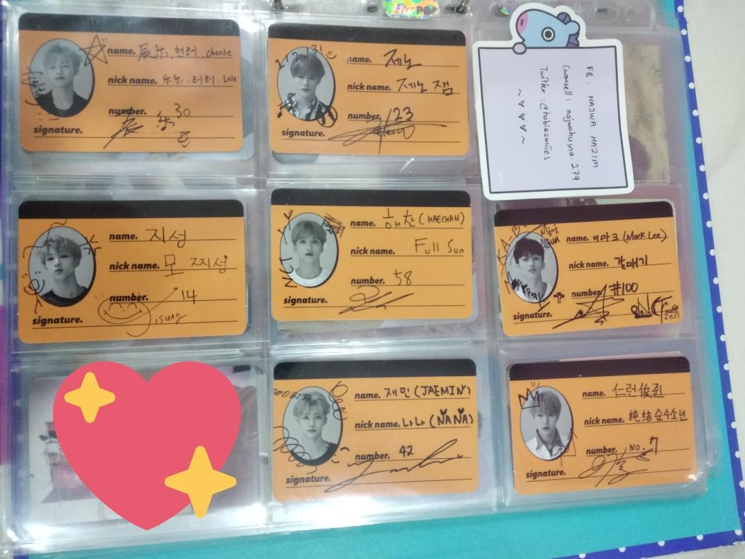[INTEREST CHECK] NCT Dream 127 Album and Limited PCs