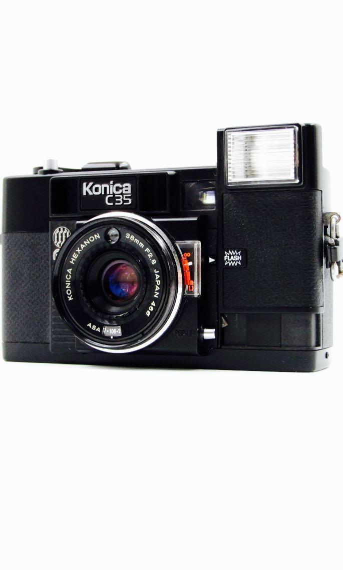 Konica C35 Film Rangefinder