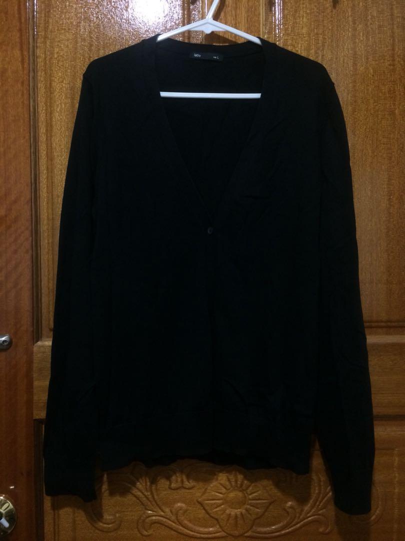 Lativ薄針織外套 適合冷氣房/遮陽