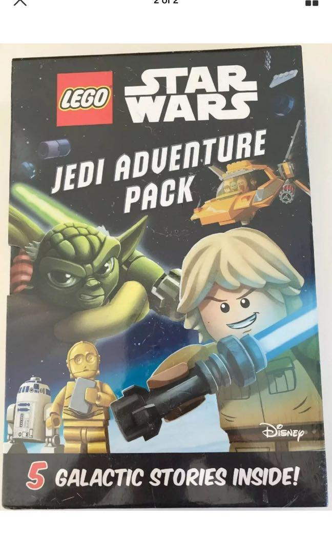 Lego - Star Wars - Jedi Adventure Pack - 5 Galactic Stories - Book