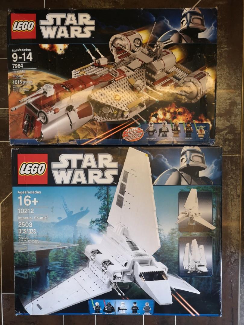 Lego Star Wars Ucs 10212 & 7964