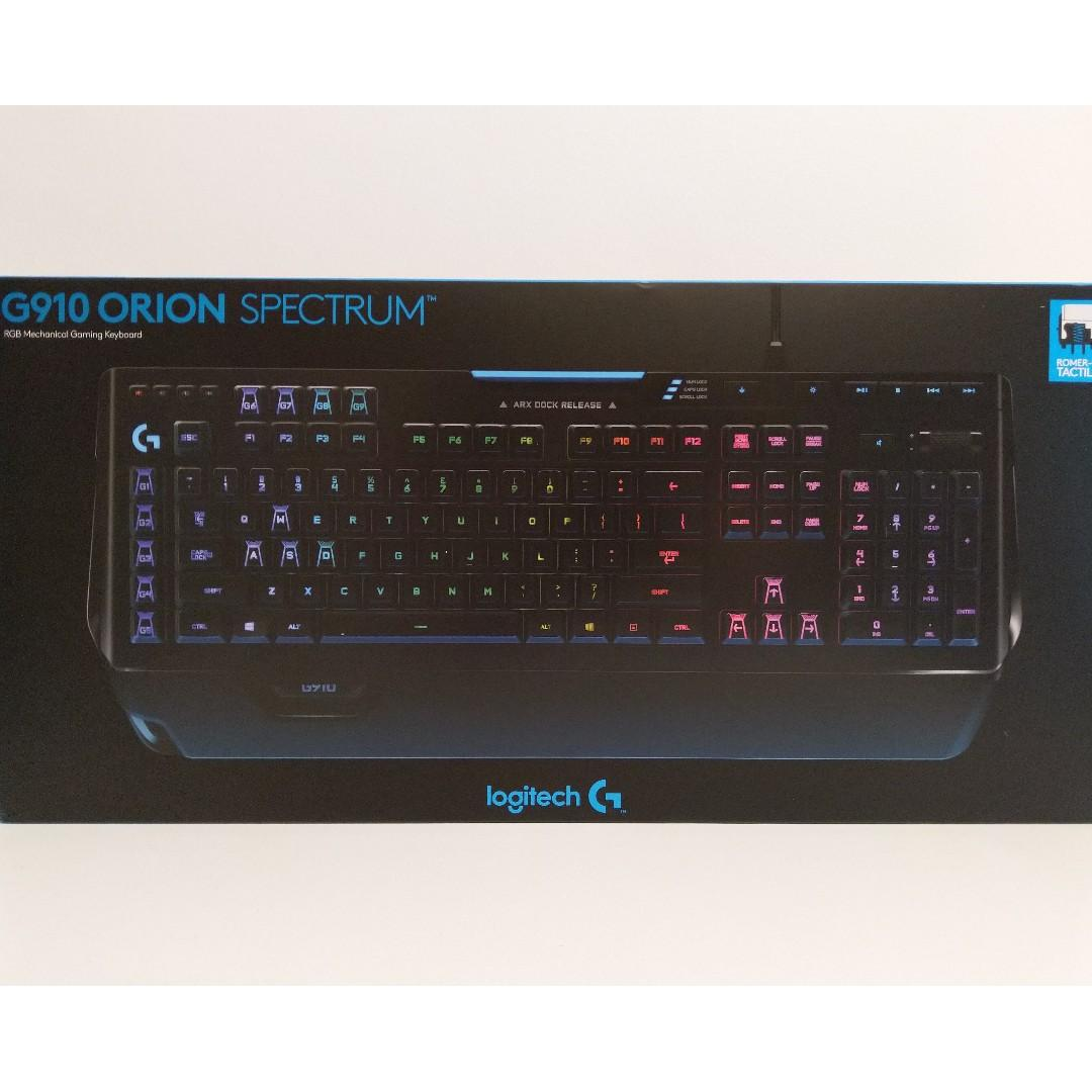 Logitech G910 Orion Spectrum RGB Mechanical Gaming Keyboard