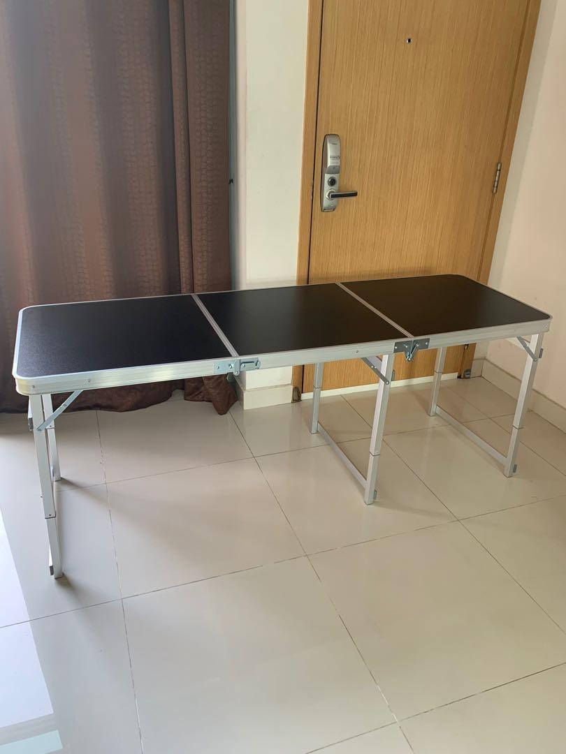 Picture of: Long Buffet Table Furniture Tables Chairs On Carousell
