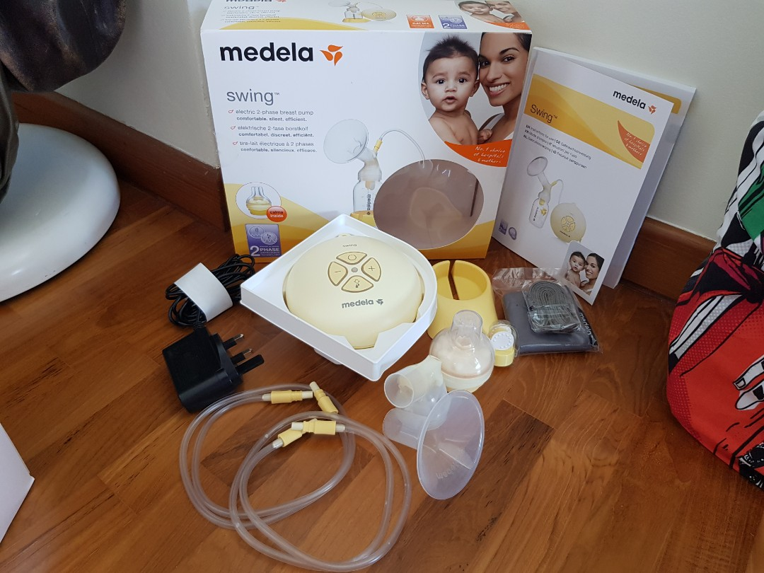 medela swing battery