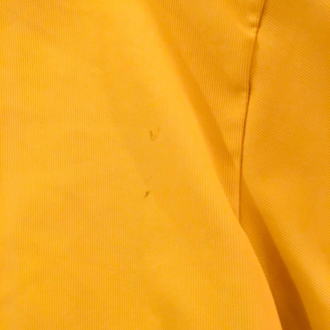 (reduced to $10)Mustard yellow cropped button up