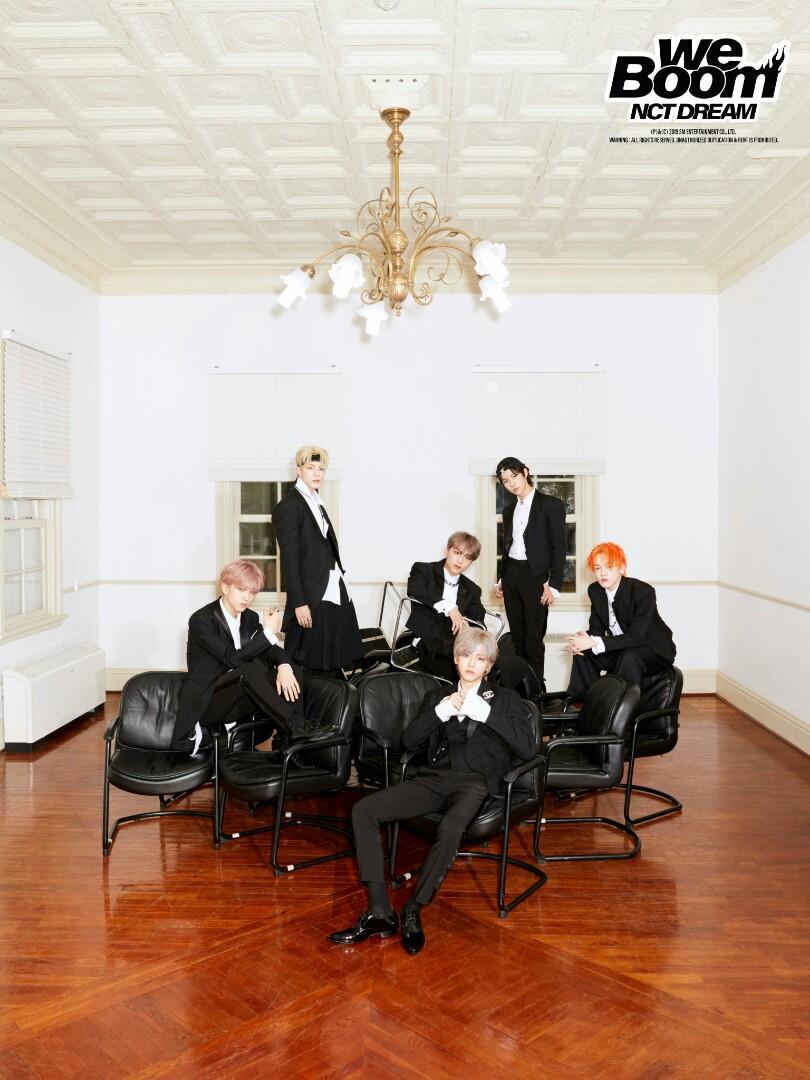 NCT DREAM WE BOOM 3RD MINI ALBUM 【UNSEALED SMALL G.O】