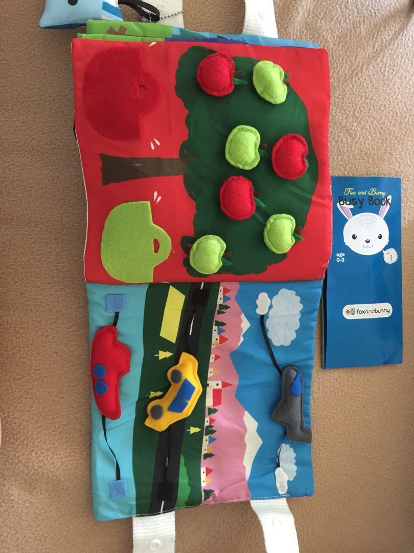 New busy book activity book kids baby children sydney
