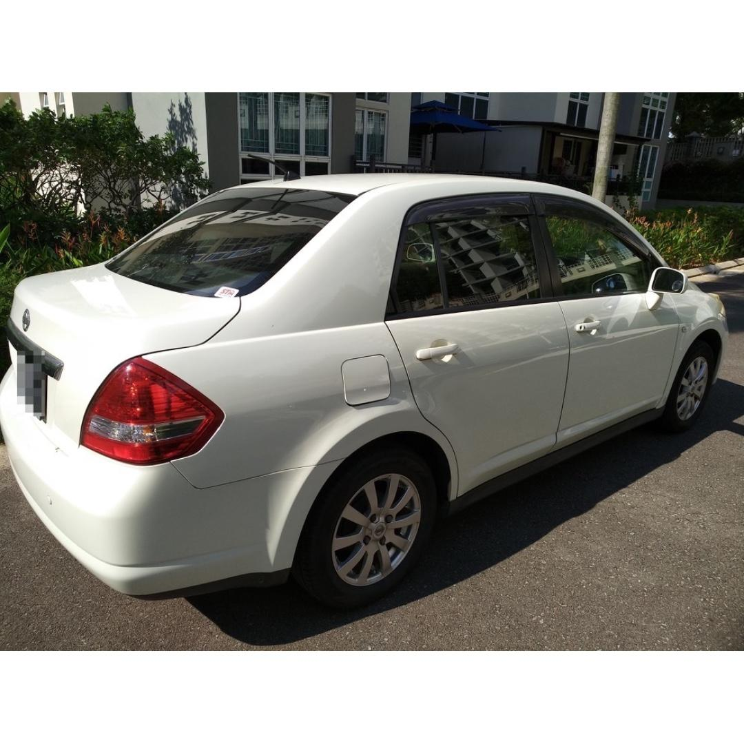 NISSAN LATIO 1.5L - SUPER COMFORTABLE, RELIABLE, SPACIOUS, HUGE BOOT, ECONOMICAL, LOW FINANCIAL STRESS! GRAB/TADA/RYDE/GOJEK READY!