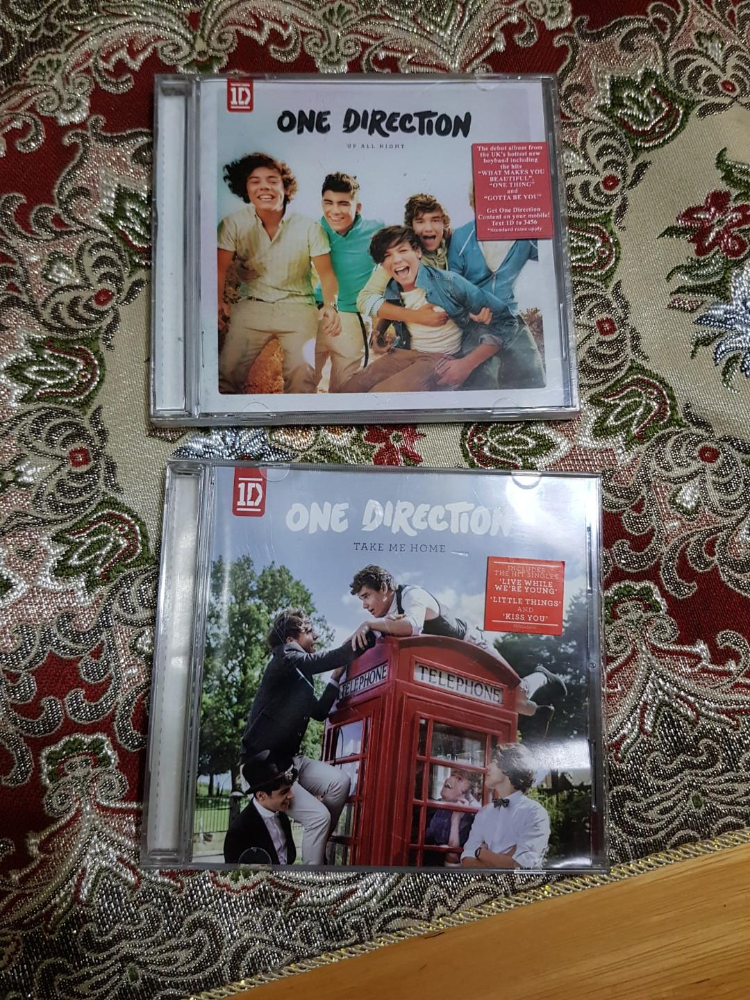 One Direction Up All Night and Take Me Home albums, Music
