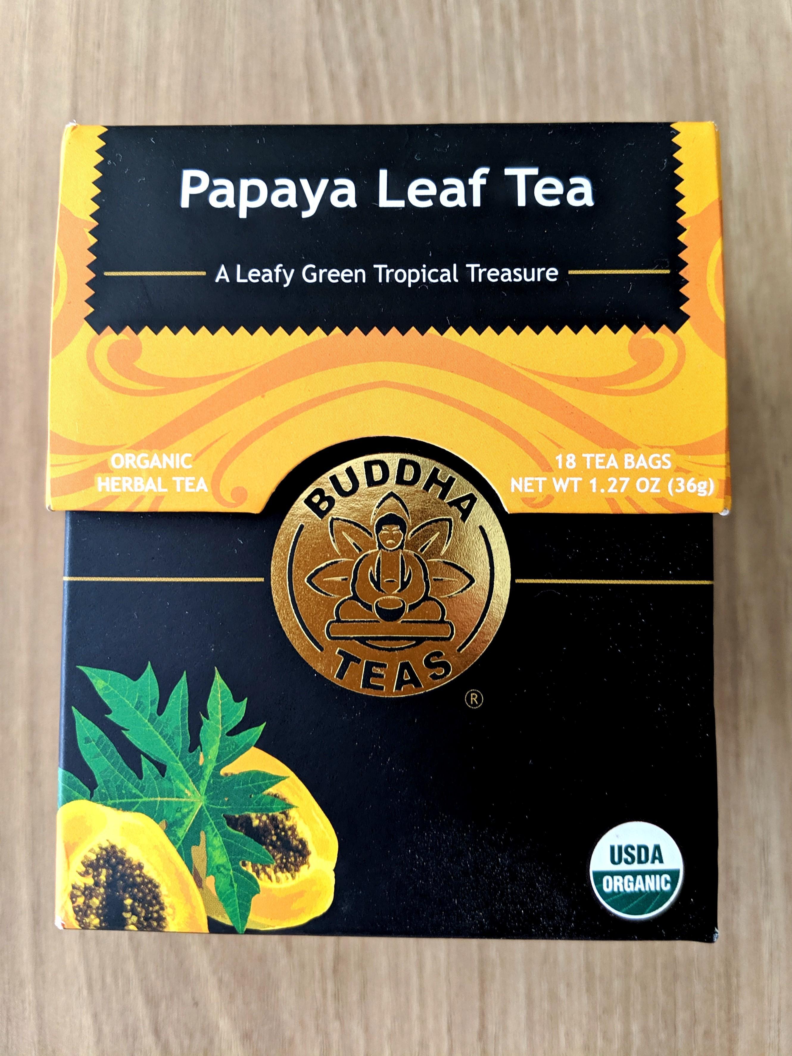 Papaya Leaf organic tea (from US)
