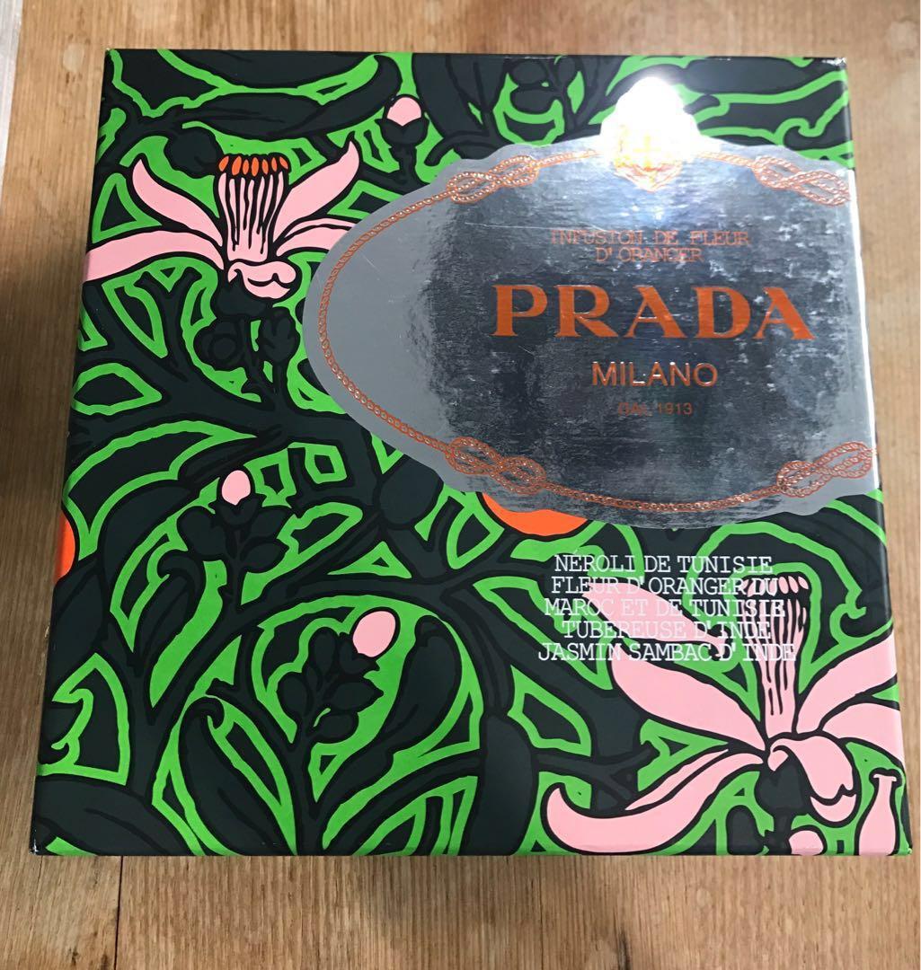 Prada Infusion De Fleur D'Oranger perfume and body wash