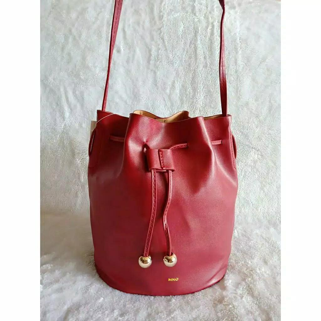 SALE drawstring tas serut vintage Bucket Bag mng mango ori china mirror premium #joinjuli