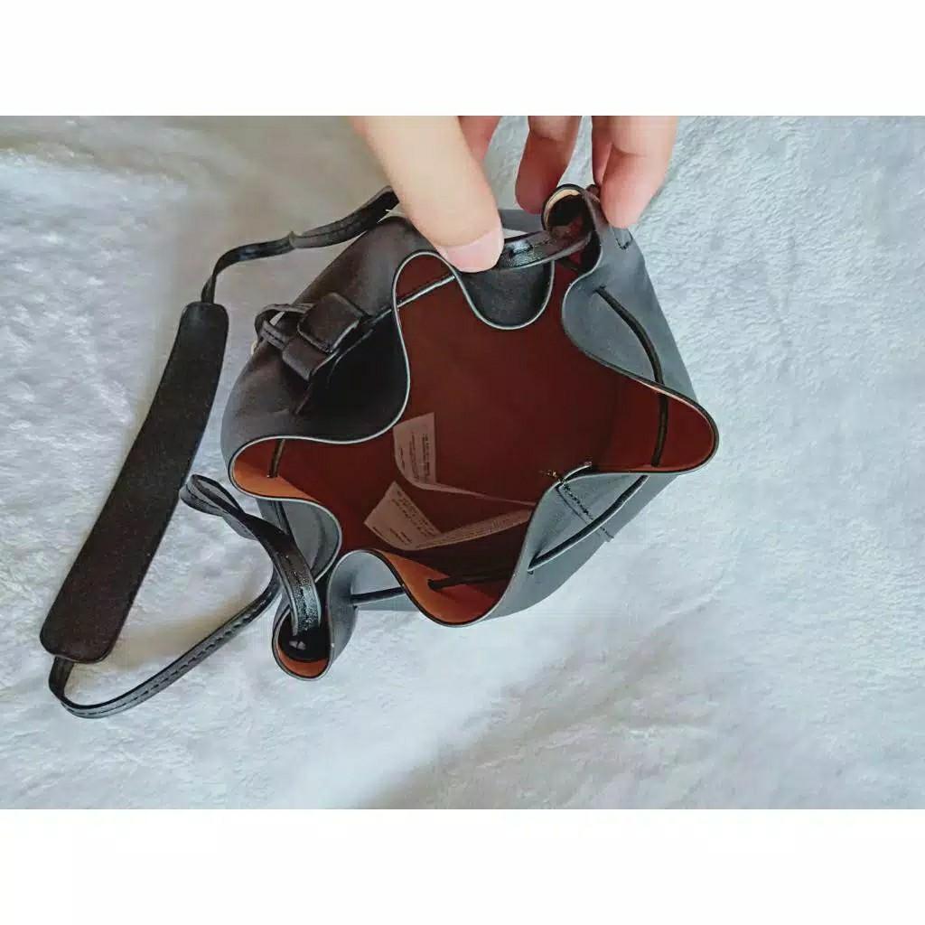 SALE drawstring tas serut vintage Bucket Bag mng mango ori china mirror premium #joinjuli