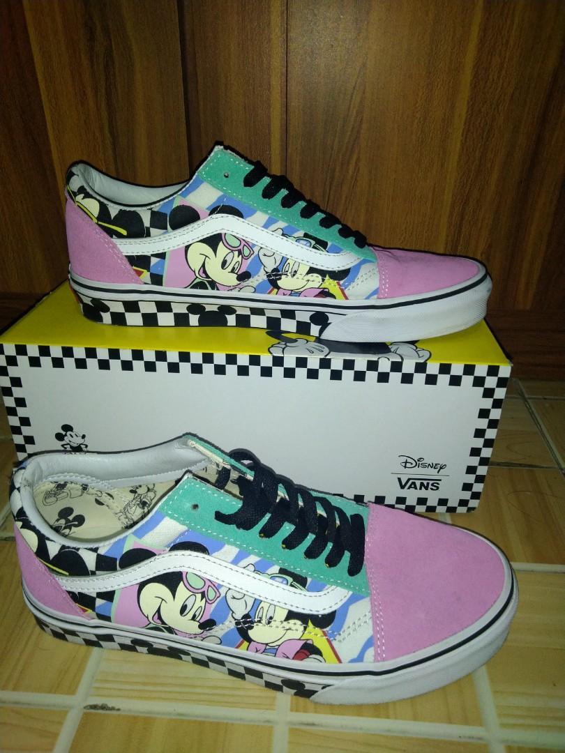 Sepatu Vans mickey limited edition (ori
