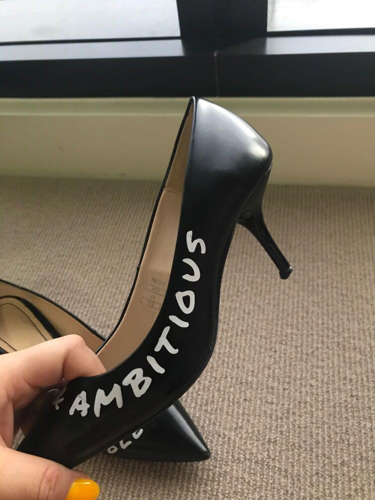 Size 37 zara heels
