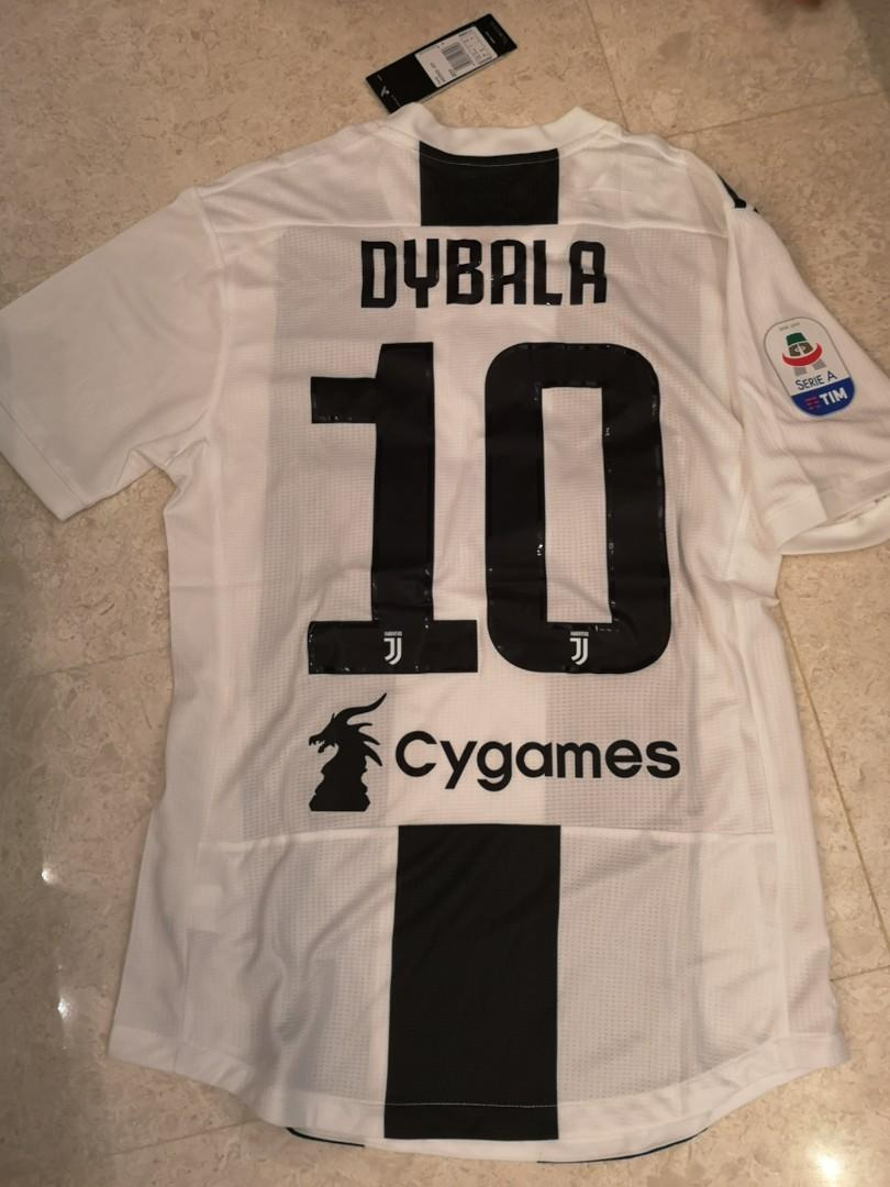 new product d05fa 5d217 SIZE M - IN STOCK - DYBALA] Juventus 2018/2019 HOME - Player ...