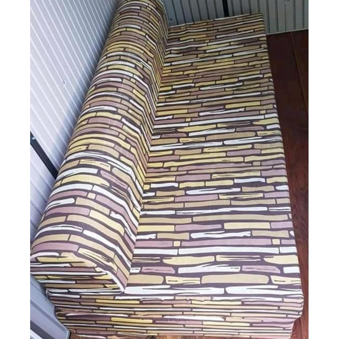 Surprising Sofa Bed Uratex Foam 72 On Carousell Ibusinesslaw Wood Chair Design Ideas Ibusinesslaworg