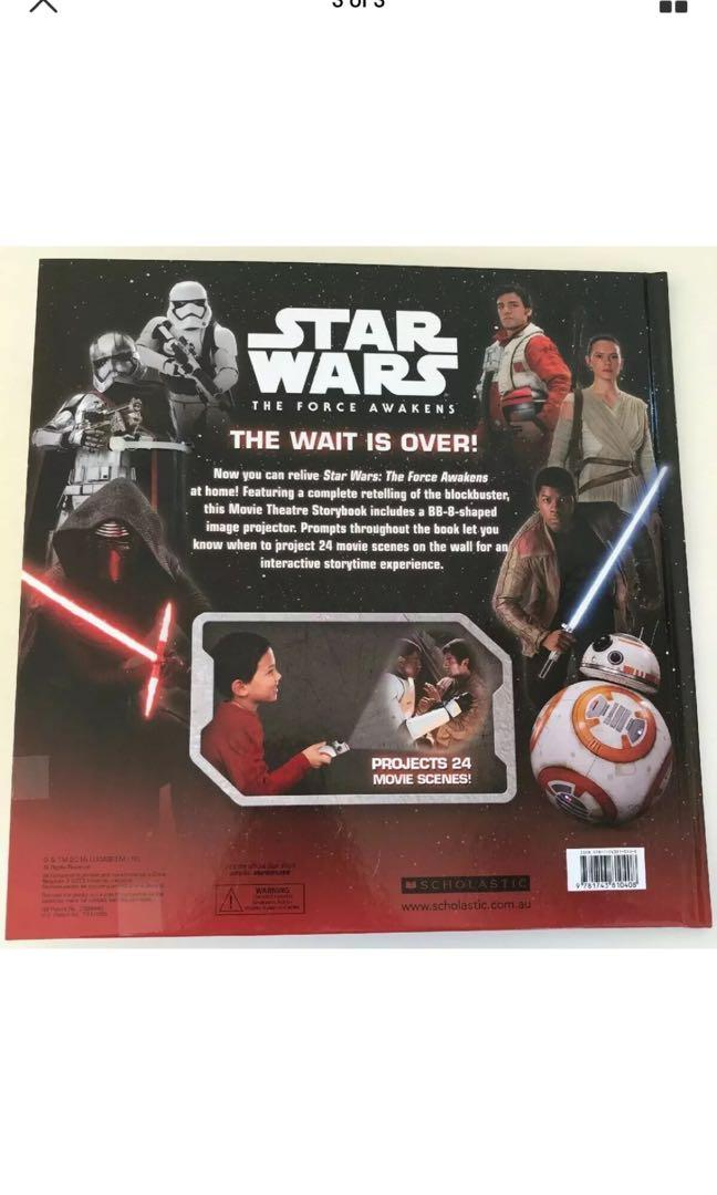 Star Wars - The Force Awakens Movie Theatre by Scholastic Australia (Novelty...