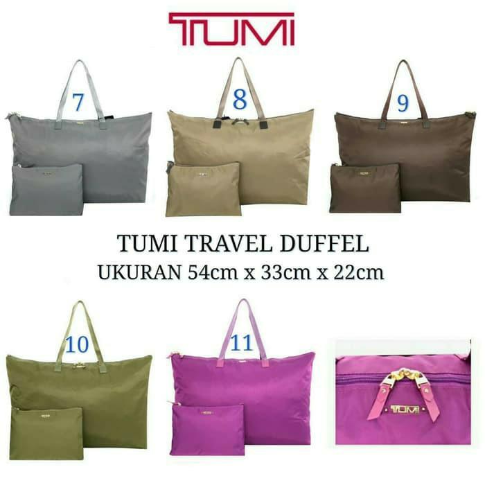 tas tumi travel duffy gradenori mirror tote bag travel bag #joinjuli