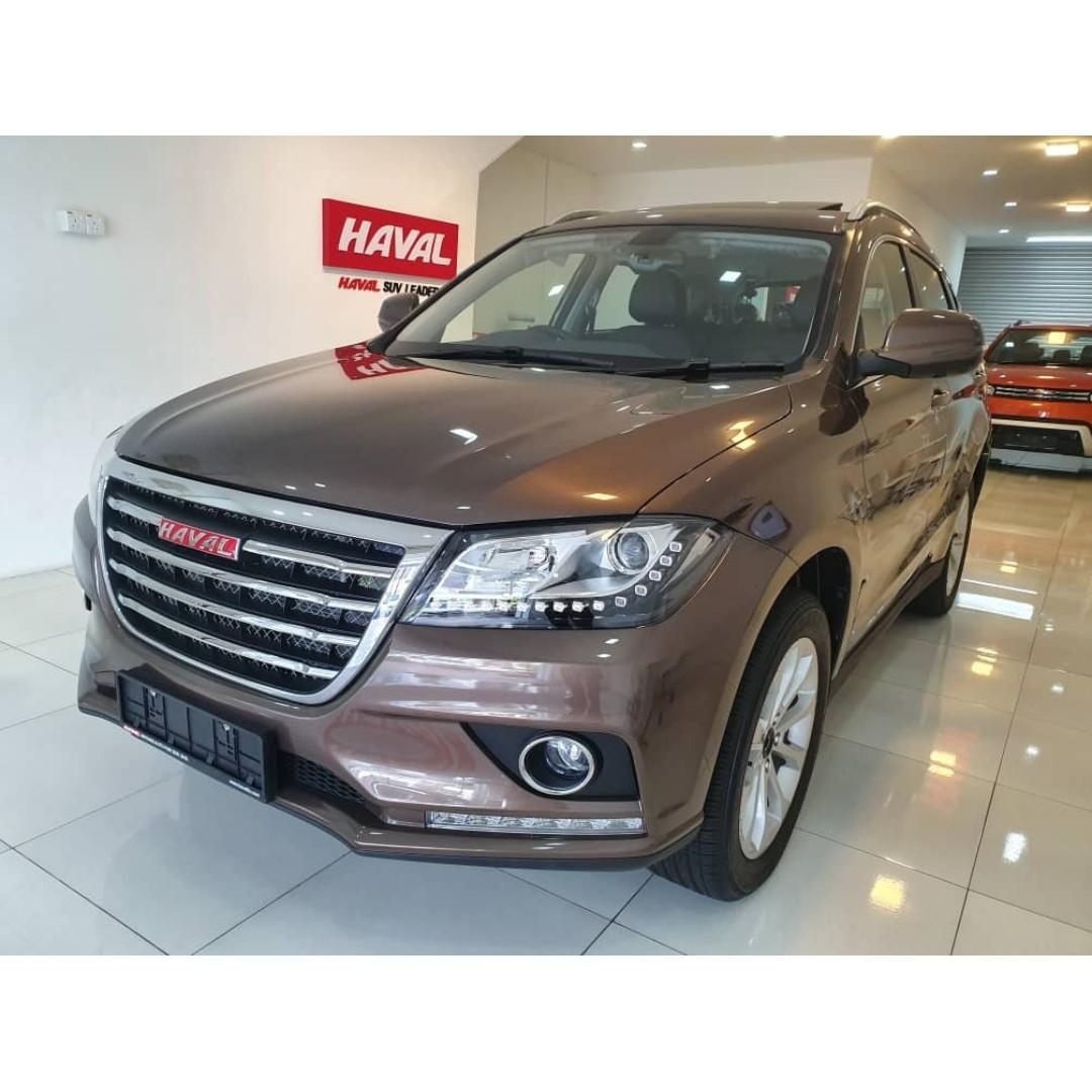 TOP SUV HAVAL H2 1.5VVTI TURBO (MID YEAR PROMOTION/SUPER HIGH REBATE/FAST LOAN) 8YEARS WARRANTY UNLIMITED MILEAGE**5 YEARS FREE SERVICE INCLUDE LABOUR & PART