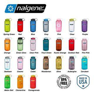 Authentic BNIP Nalgene 1L Wide Mouth Water Bottle
