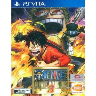 One Piece Pirate Warriors 3 PS Vita Game