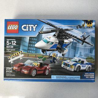 BNIB Lego City Police High-speed Chase
