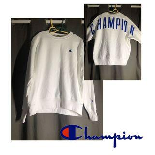 🚚 Champion Reverse-Weave Oversize Arch Spell-out Sweater