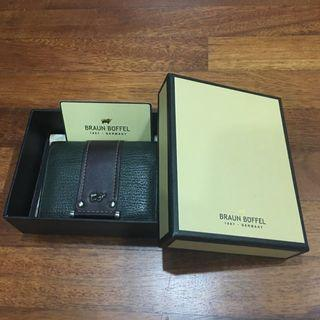 Authentic Braun Buffel Card Holder