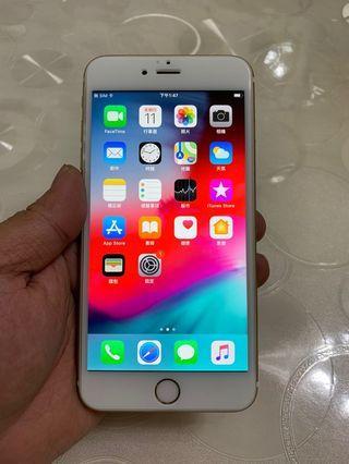 🚚 IPhone 6S Plus 金色 64g 5.5吋 (IOS:12.2.1) 單機無盒配件無耳機、 原廠屏幕、外觀整體九成新,整體漂亮,無大修無摔碰傷無泡水, 已貼滿版保護貼,所有功能正常、效能超順暢。 電池健康度🔋97%