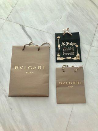 BVLGARI authentic paperbag