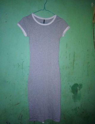 Dress bodycon grey cotton on