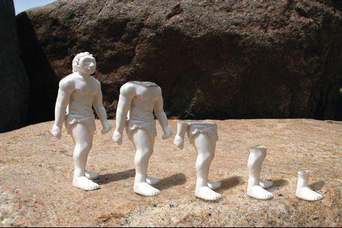 COOL, UNIQUE NOVELTY 🎁❣️Kikkerland Signature Neanderthal Large Figure Eraser