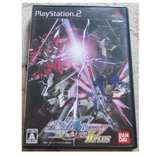 PS2 機動戰士高達  Gundam Seed Destiny 連合 VS ZAFT II Plus (日本版)