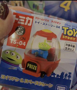 🚚 日本🇯🇵現貨 玩具總動員4 Toy Story 三眼怪火箭車 TAKARA TOMY 火箭TS-04款
