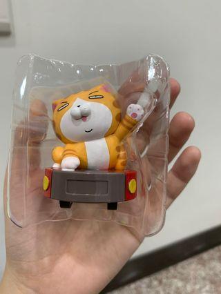 全家白爛貓迴力車