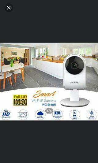 Instock prolink Smart wifi IP Camera 1080 full HD *Brand new in box*chat to buy if int