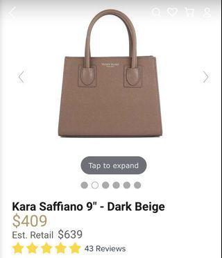 Teddy Blake Dark beige luxury bag