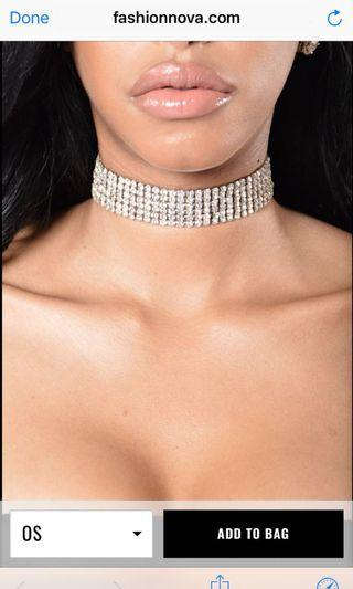 Fashion Nova Choker