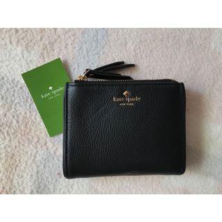🚚 Kate Spade 全新 黑色 短夾 錢包 (美國購入) 放小包適合