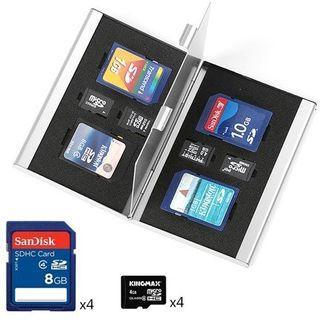 【Q夫妻】SD/TF Case SD卡盒 TF卡盒 收納盒 金屬盒 #D2